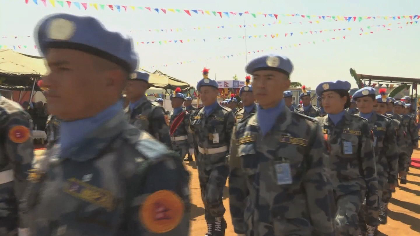 SOUTH SUDAN / NEPALESE POLICE OFFICERS
