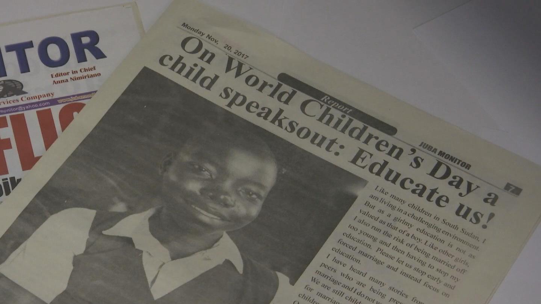 SOUTH SUDAN / WORLD CHILDREN'S DAY