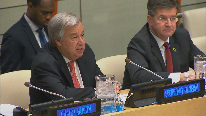 UN / CARICOM PLEDGING CONFERENCE