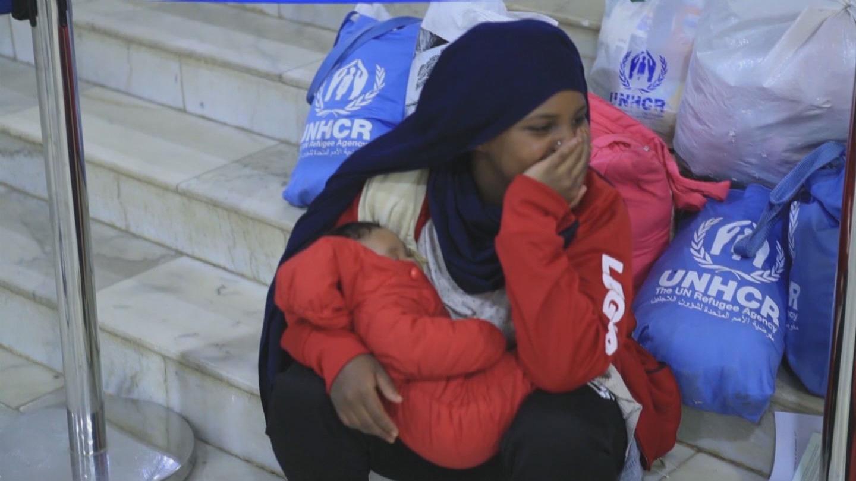 NIGER / LIBYA REFUGEES EVACUATION