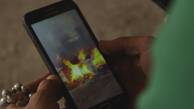 LEBANON / REFUGEE SETTLEMENT FIRE