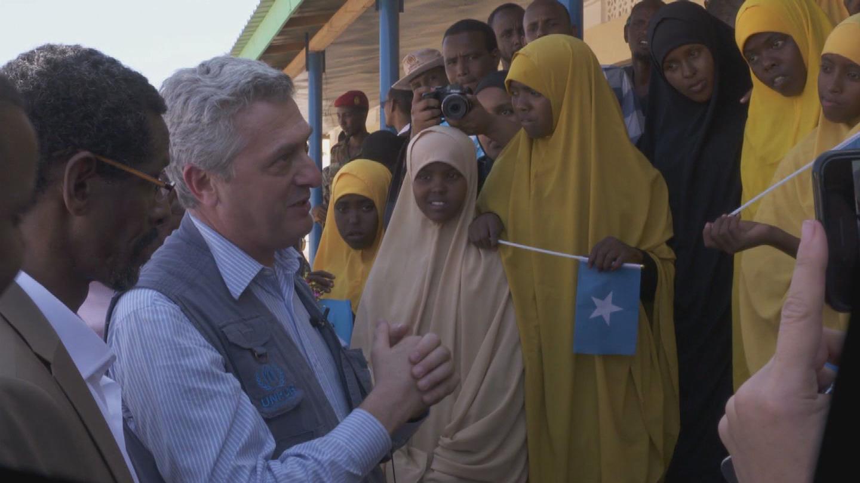 SOMALIA  REFUGEES GRANDI
