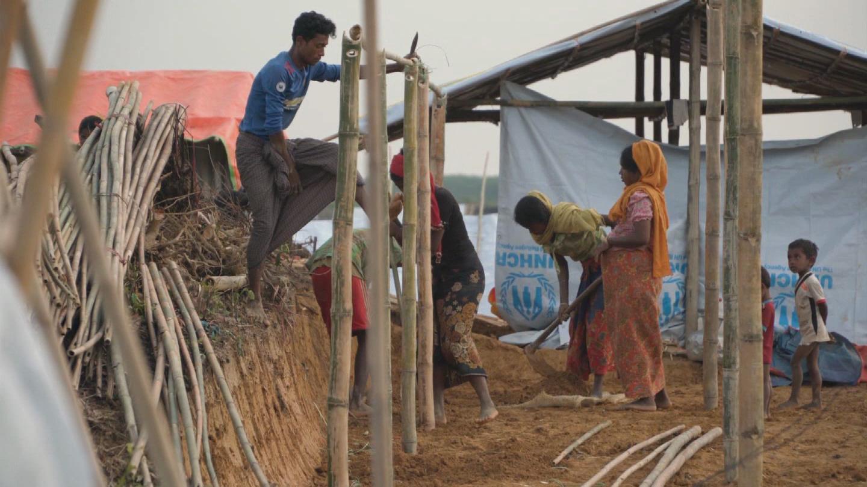 BANGLADESH / ROHINGYA MONSOON