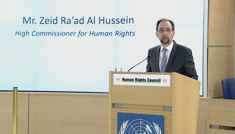 GENEVA / ZEID HUMAN RIGHTS COUNCIL