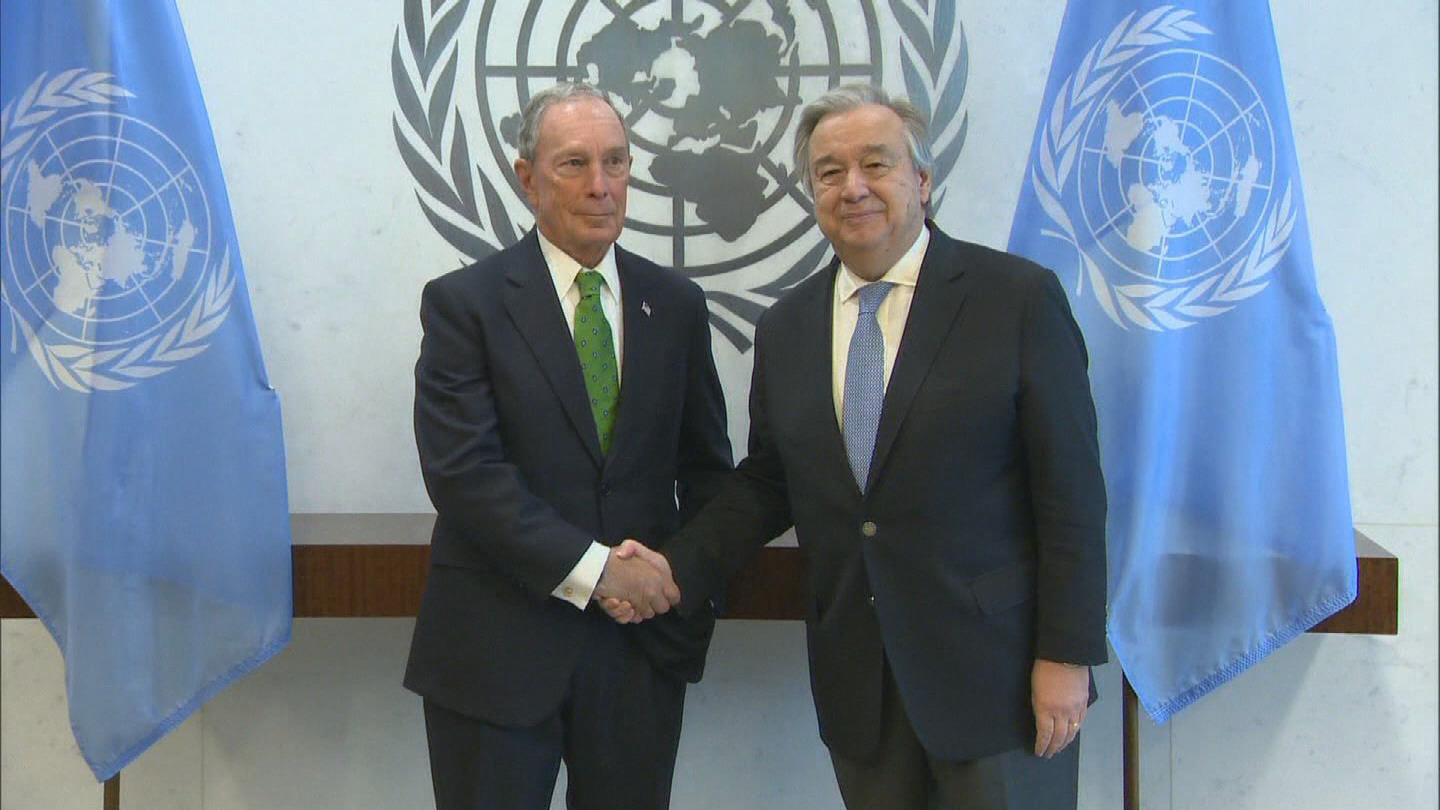 UN  BLOOMBERG CLIMATE CHANGE