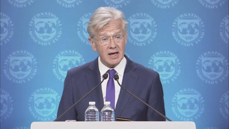 IMF  US TARIFFS ECB UKRAINE