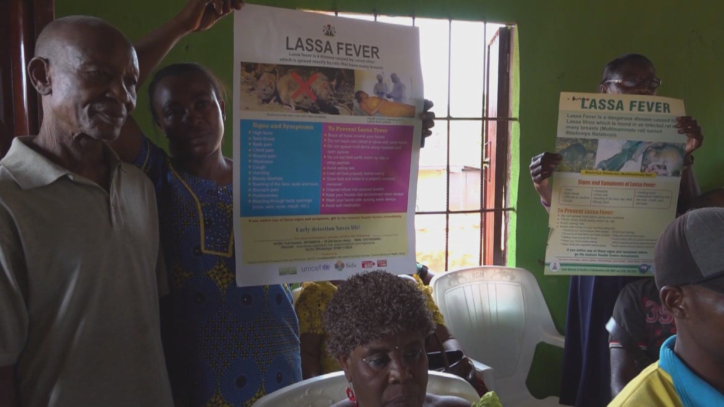 NIGERIA / LASSA FEVER COMMUNITIES