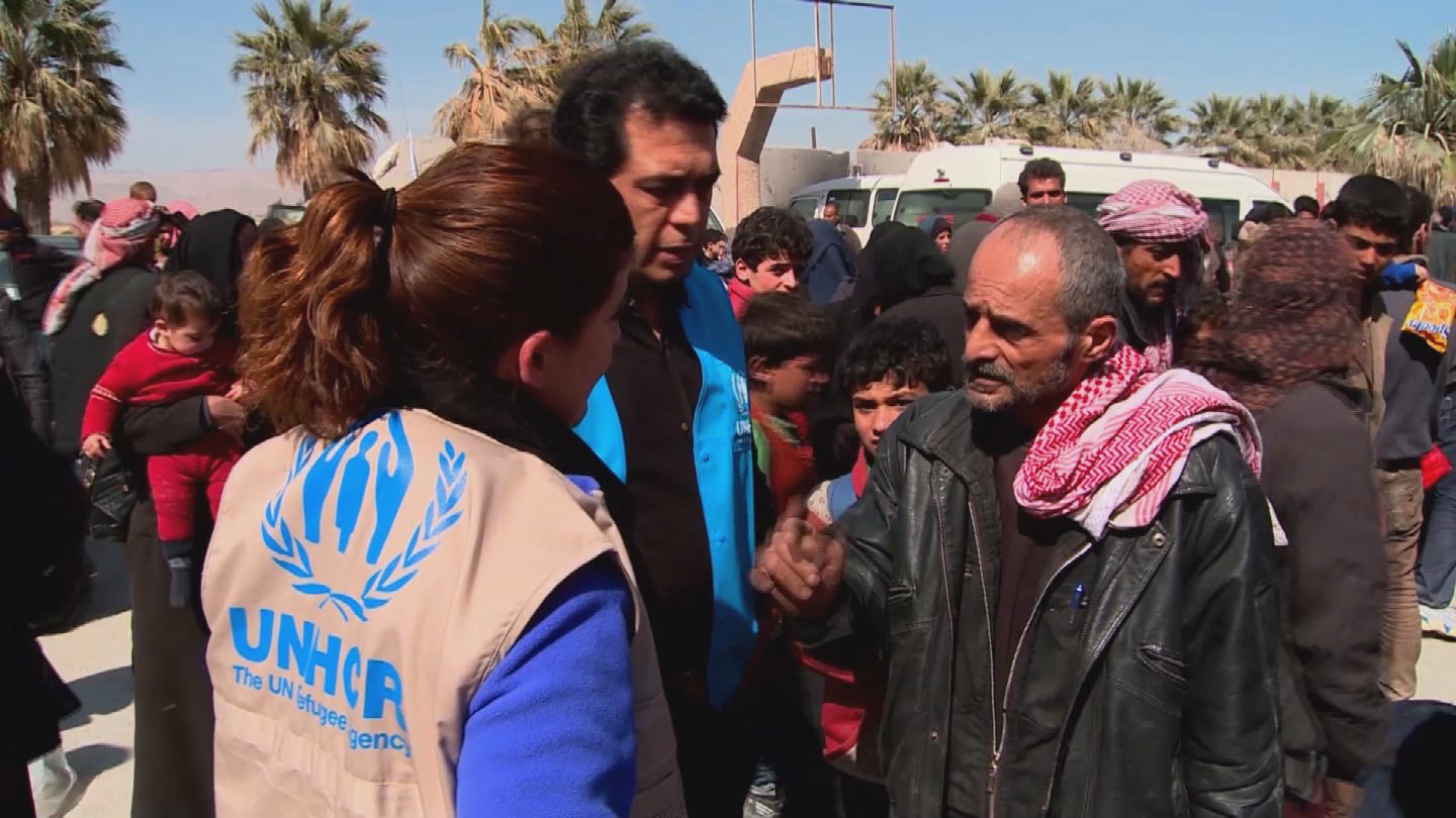 SYRIA / DISPLACED EASTERN GHOUTA