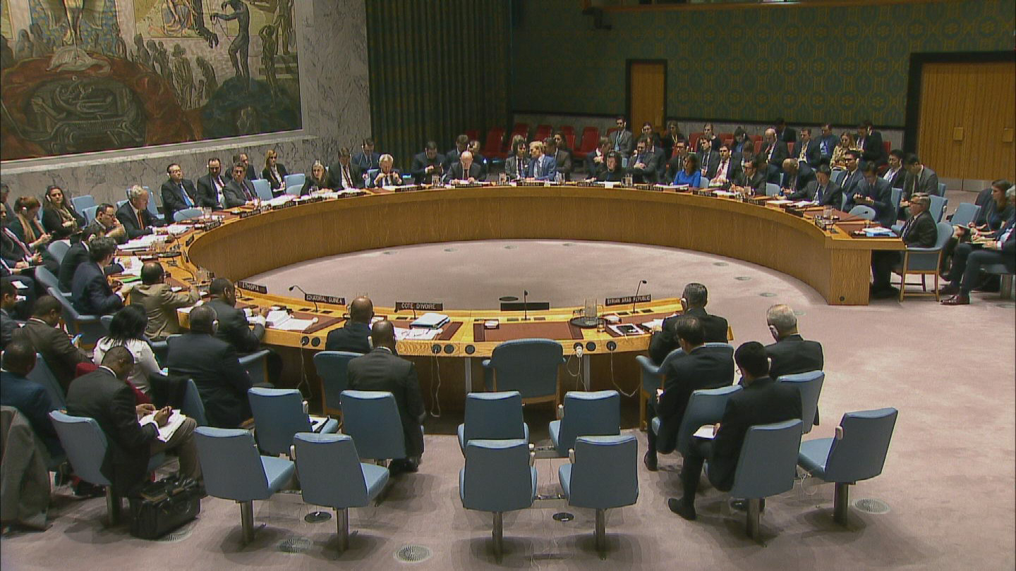 UN  SYRIA CHEMICAL WEAPONS