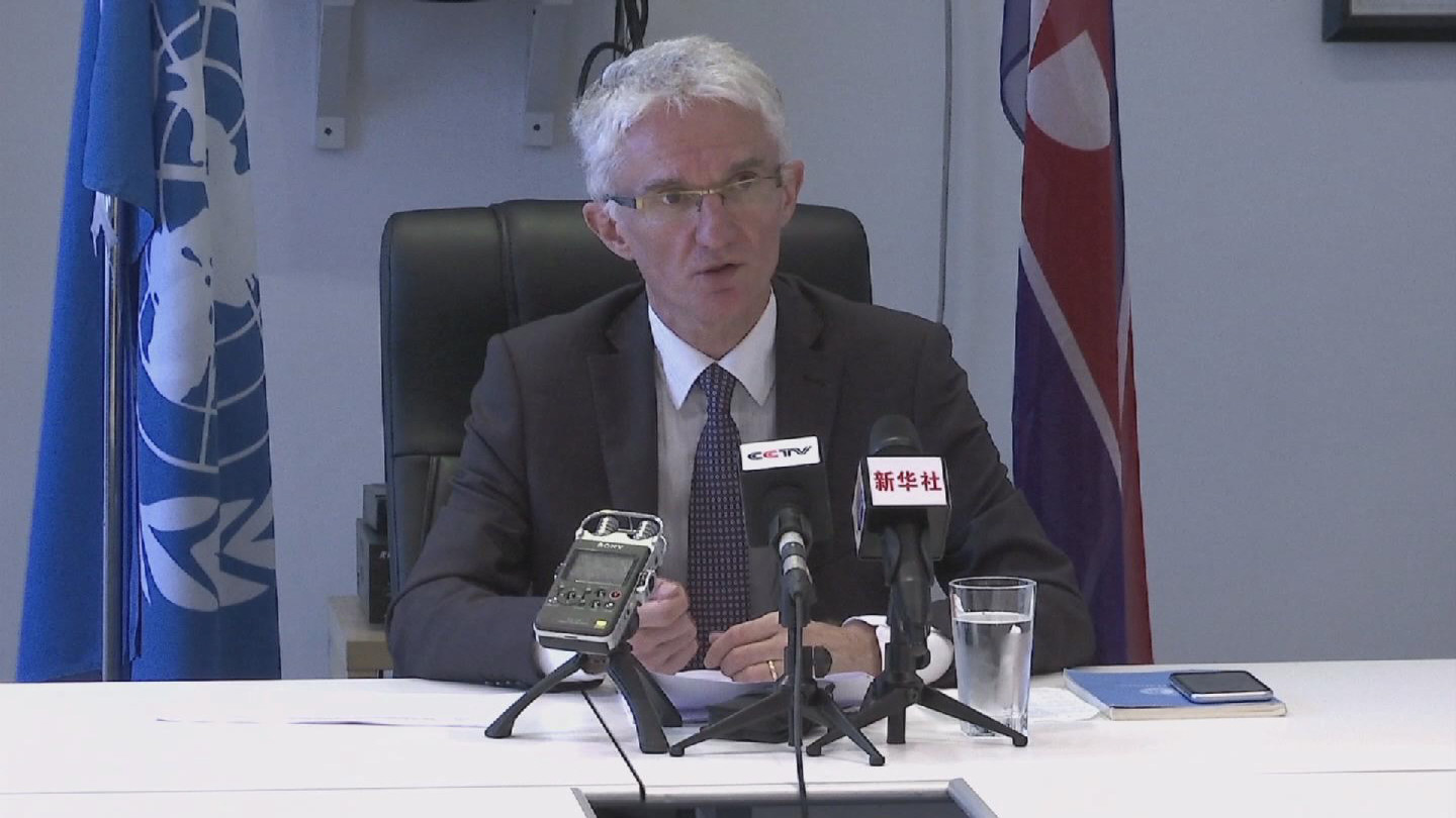 DPRK  LOWCOCK PRESS CONFERENCE