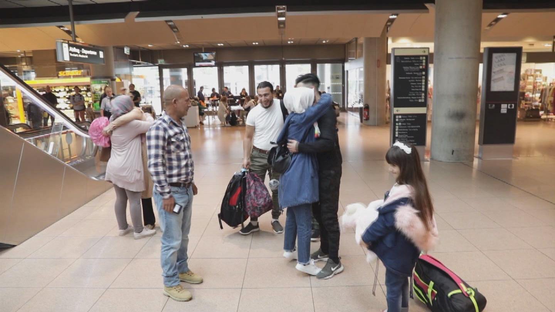 GERMANY / SYRIAN FAMILY REUNITED