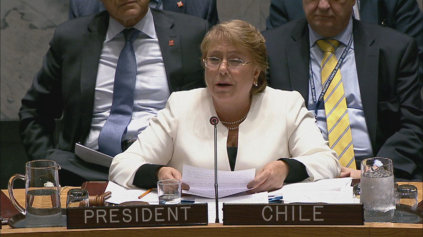 UN / HUMAN RIGHTS BACHELET