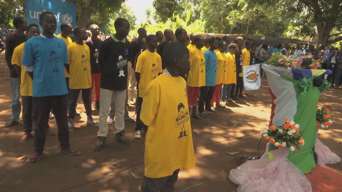 SOUTH SUDAN / CHILD SOLDIERS RELEASED