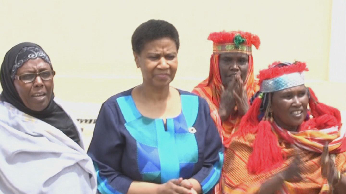 SOMALIA  UN WOMEN CHIEF VISIT