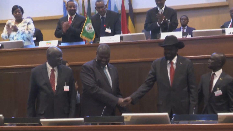 ETHIOPIA / SOUTH SUDAN PEACE AGREEMENT