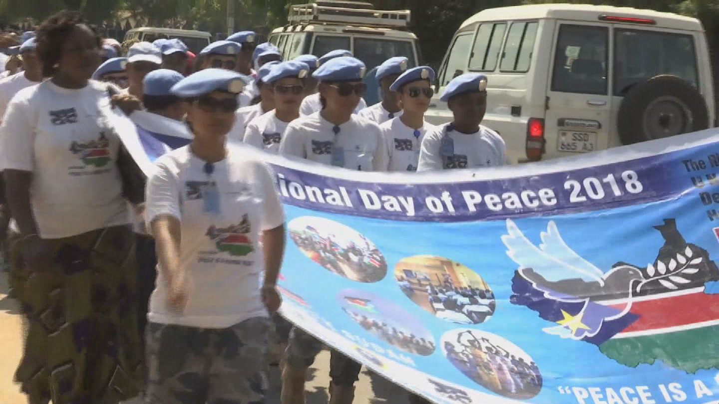 SOUTH SUDAN / INTERNATIONAL DAY OF PEACE
