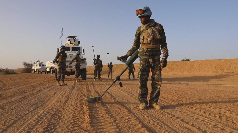 MALI / GUINEAN PEACEKEEPERS