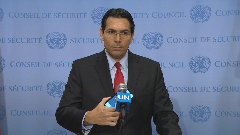 UN / ISRAEL GAZA PRESSER