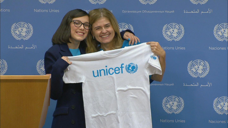 UN  UNICEF MILLIE BOBBY BROWN