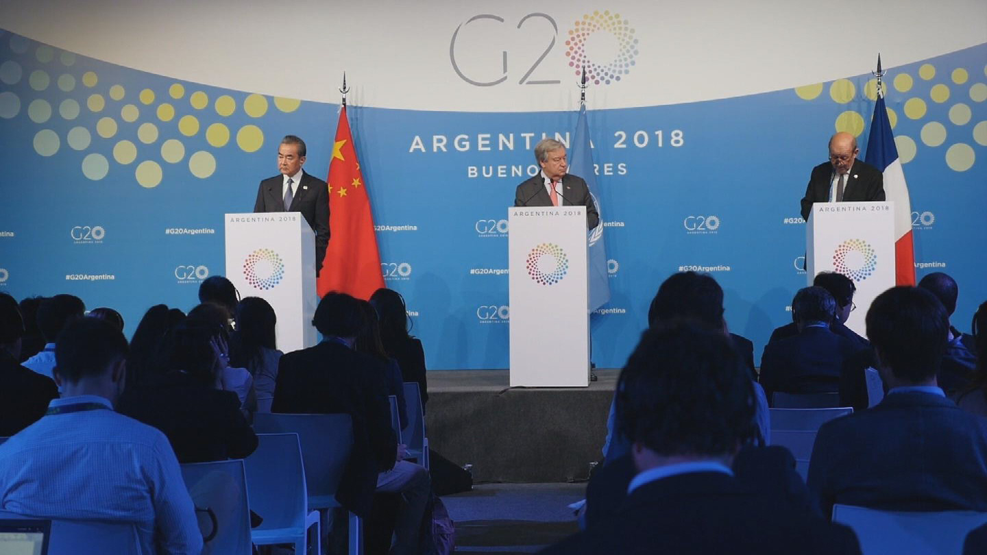 BUENOS AIRES  G20 GUTERRES CHINA FRANCE