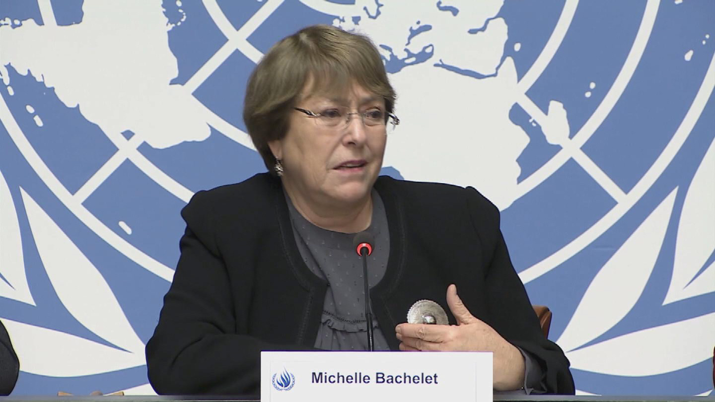 GENEVA  BACHELET HUMAN RIGHTS