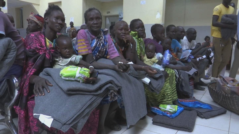 SOUTH SUDAN  BENTIU UN VOLUNTEER DAY