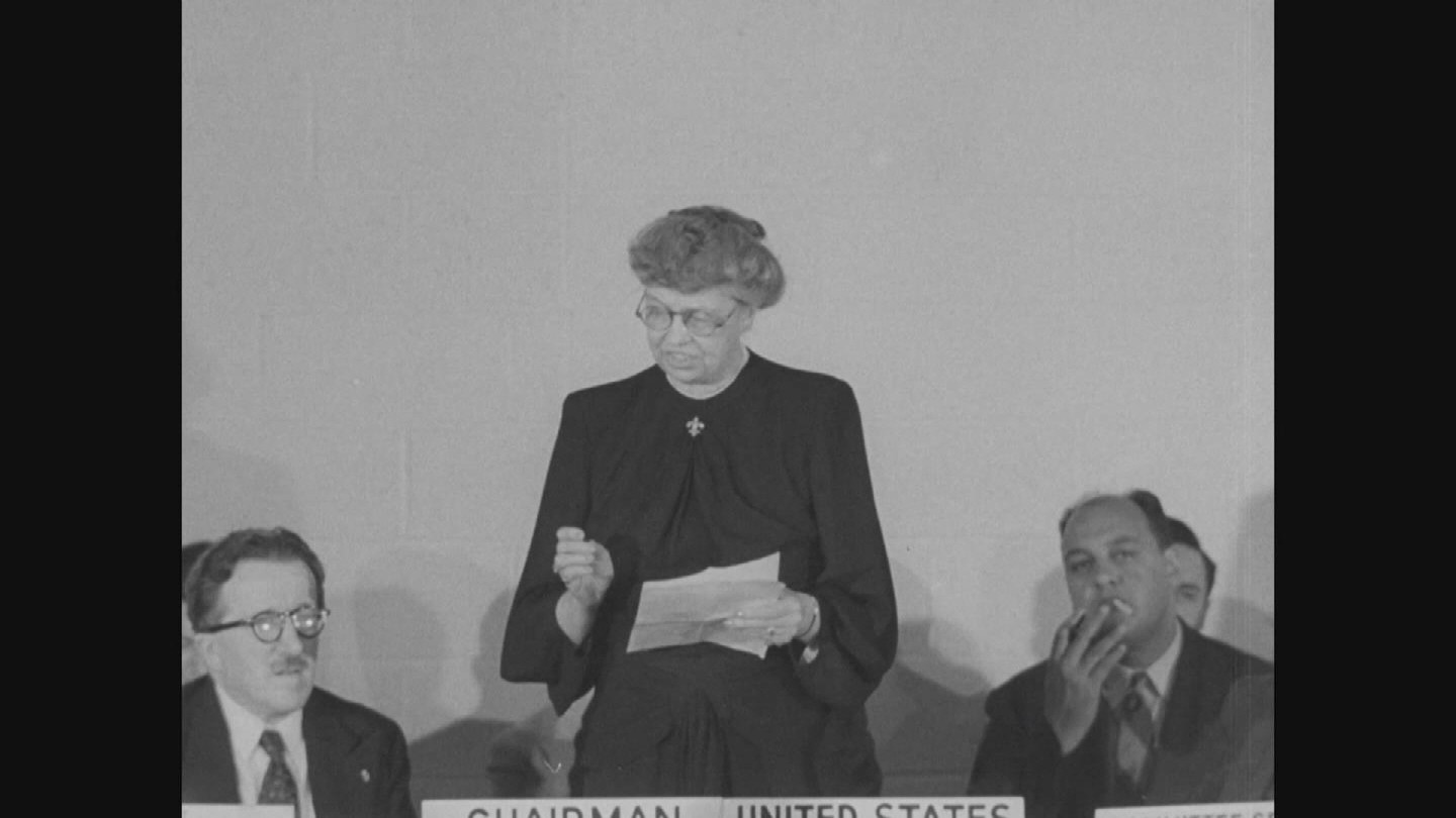 FEATURE  ELEANOR ROOSEVELT