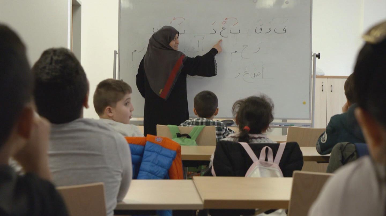VIENNA  SYRIAN REFUGEE TEACHER