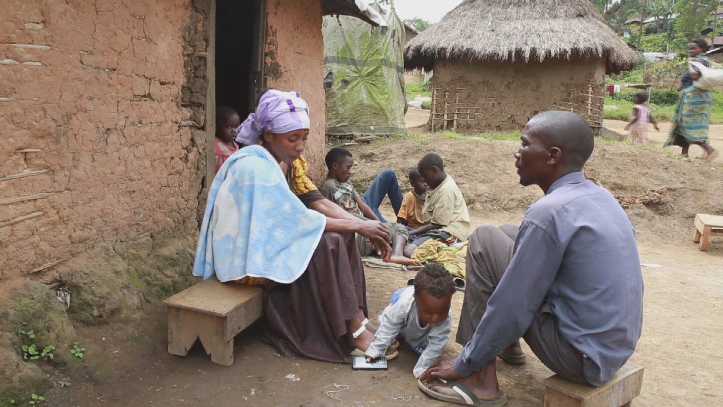 DRC  DISPLACED BY CONFLICT