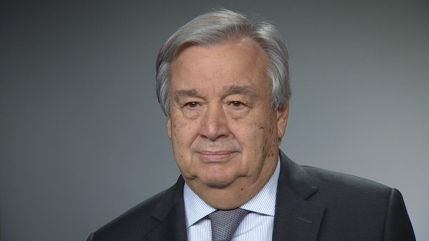 UN  GUTERRES NEW YEAR MESSAGE- ENGLISH