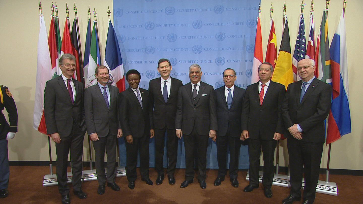 UN  SECURITY COUNCIL NEW MEMBERS