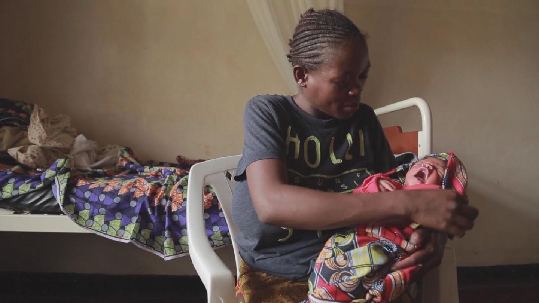 DRC  EBOLA NEWBORN BABY