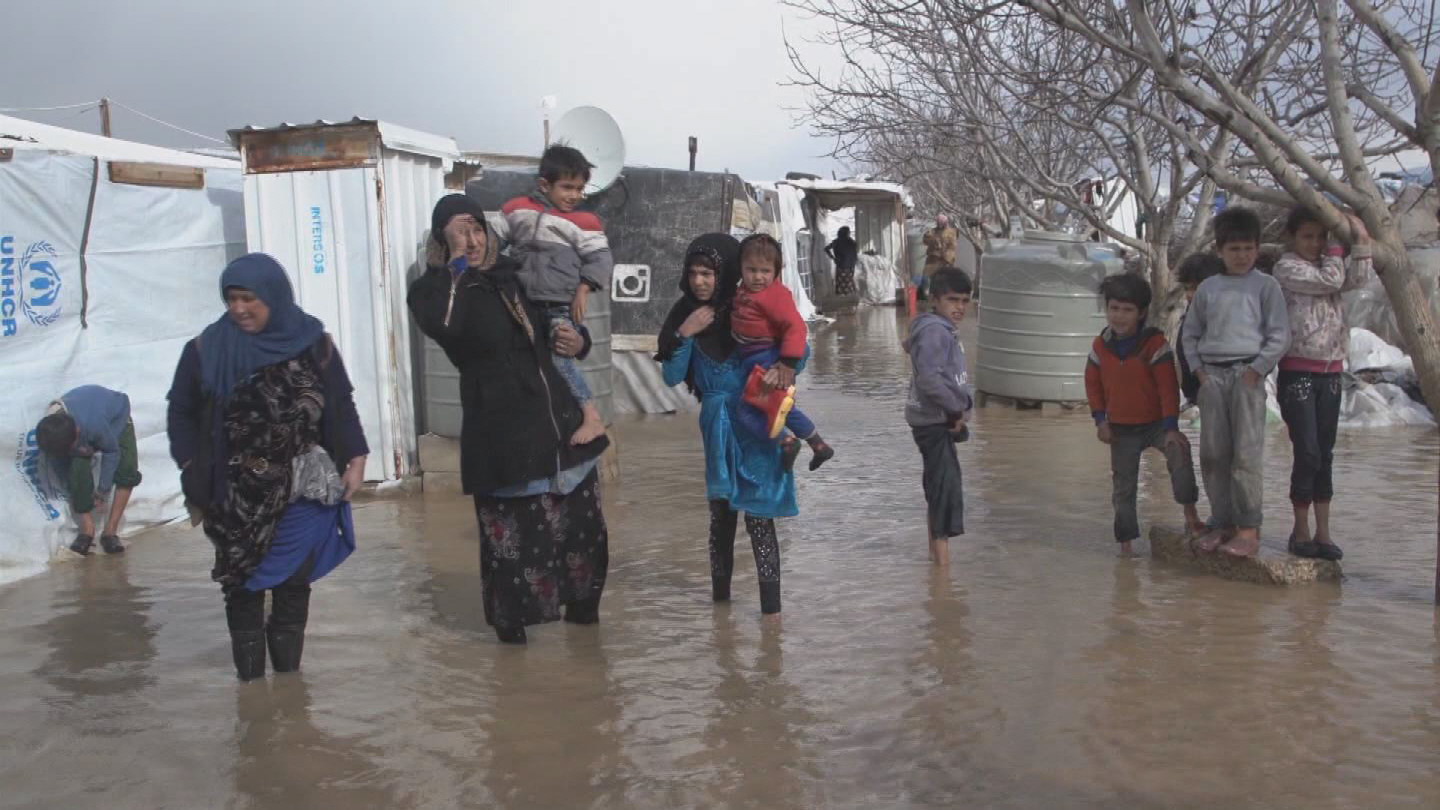 LEBANON  REFUGEE CAMP FLOOD