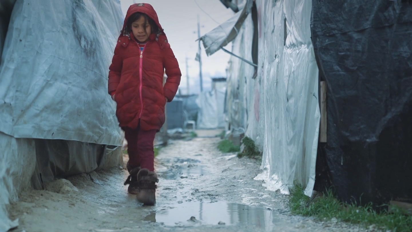 LEBANON  STORM REFUGEE CHILDREN