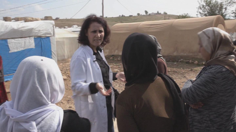 IRAQ  YAZIDI DOCTOR ISIS VICTIMS