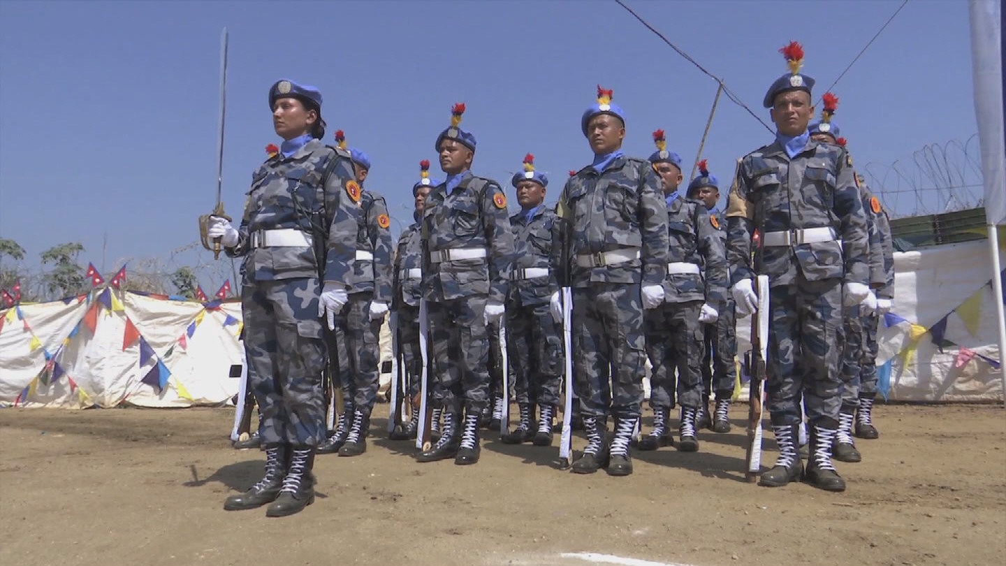 SOUTH SUDAN  NEPALESE PEACEKEEPERS