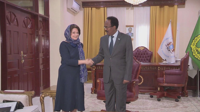 SOMALIA  DI CARLO VISIT