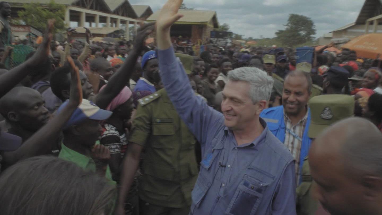 TANZANIA  REFUGEES GRANDI VISIT
