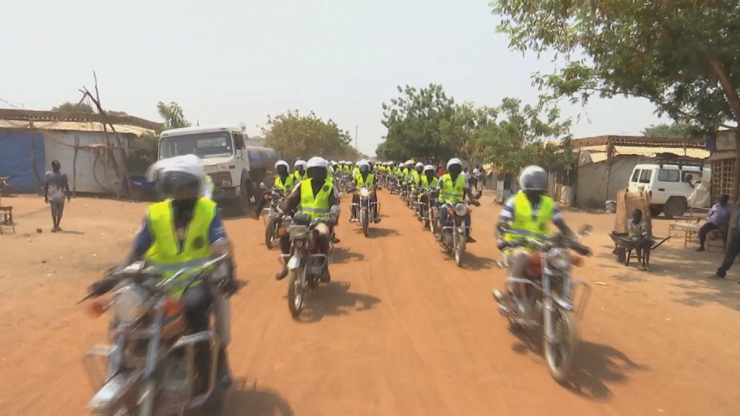 SOUTH SUDAN  BODA BODA RIDERS