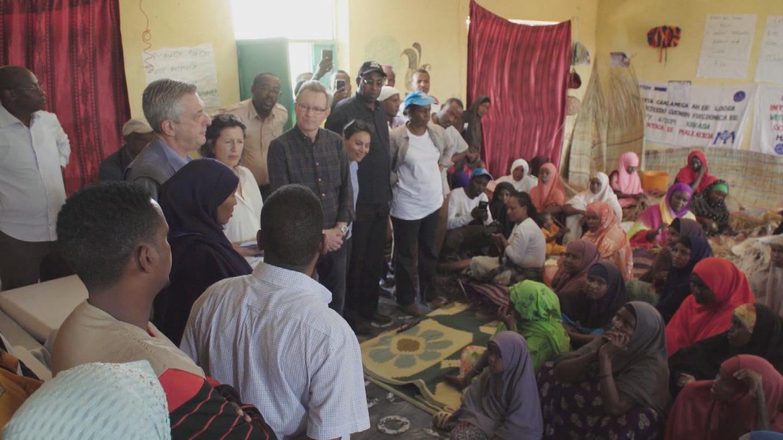 ETHIOPIA  REFUGEES GRANDI VISIT