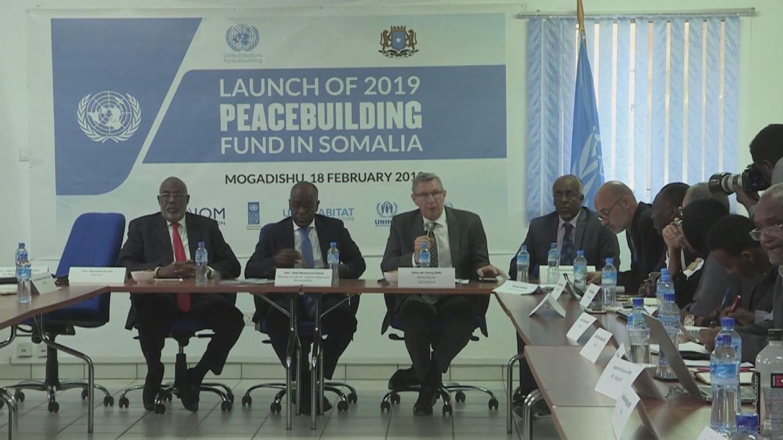 SOMALIA  PEACEBUILDING