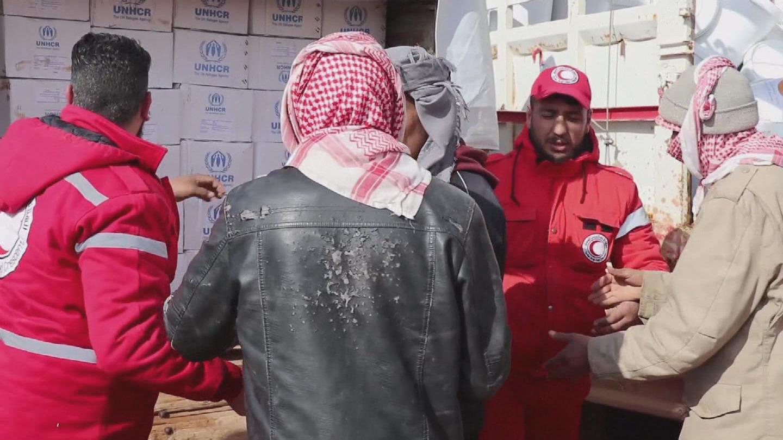 SYRIA / RUKBAN HUMANITARIAN CONVOY