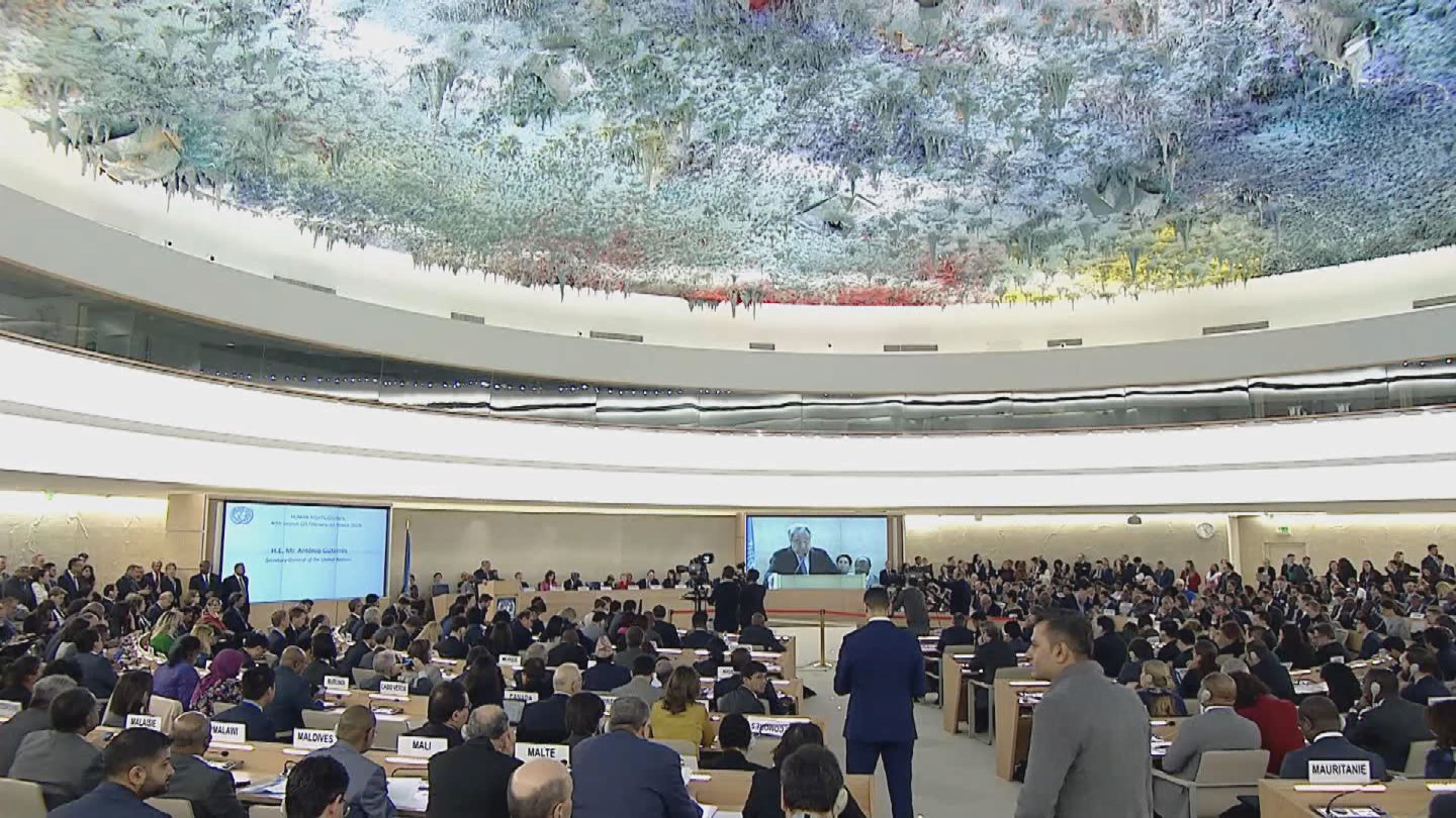 GENEVA  HUMAN RIGHTS COUNCIL OPENING