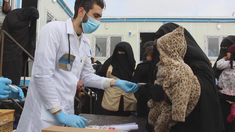 SYRIA  AL HOL CAMP NEW ARRIVALS