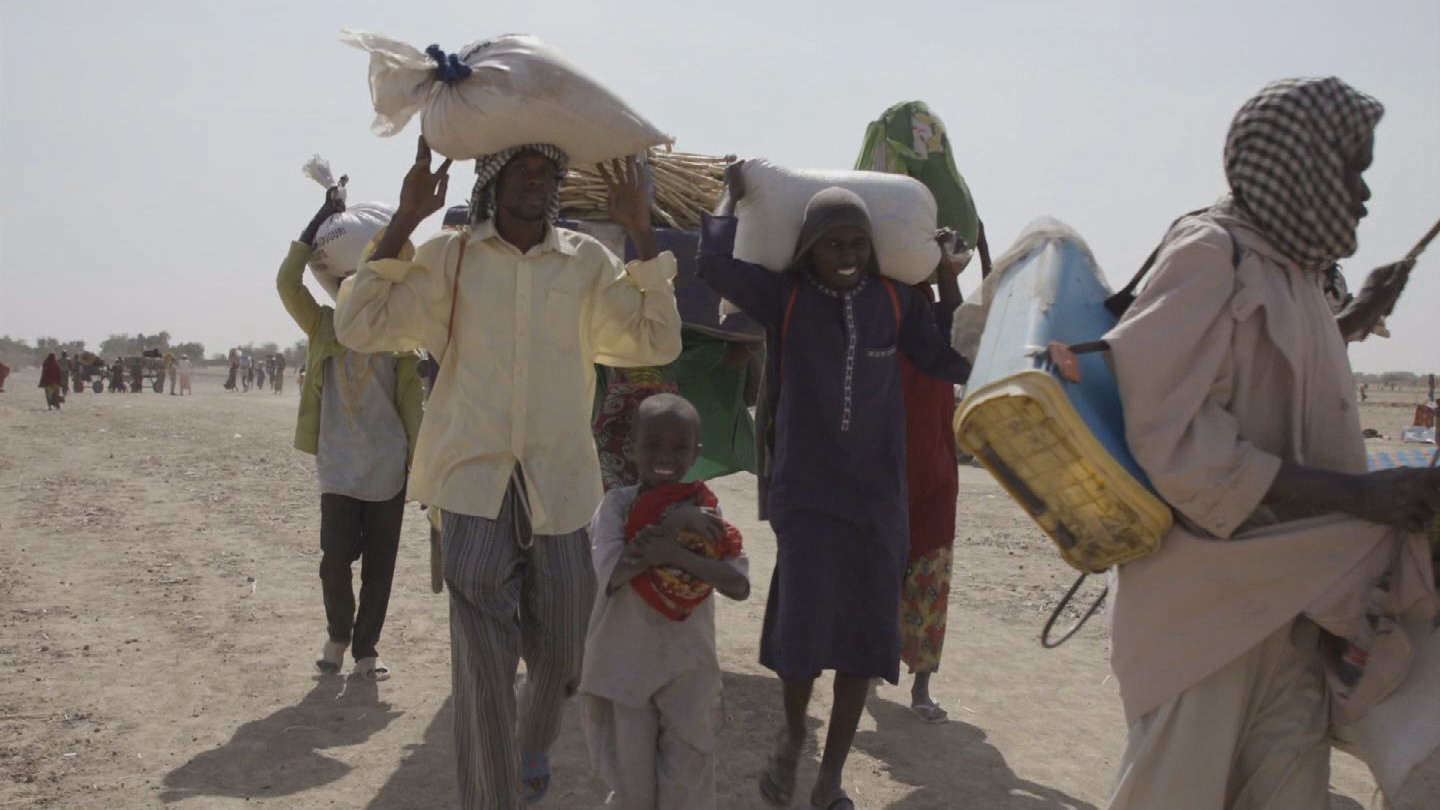 UN  NIGERIAN REFUGEES RETURN