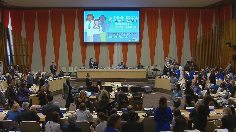 UN  INTERNATIONAL WOMEN'S DAY