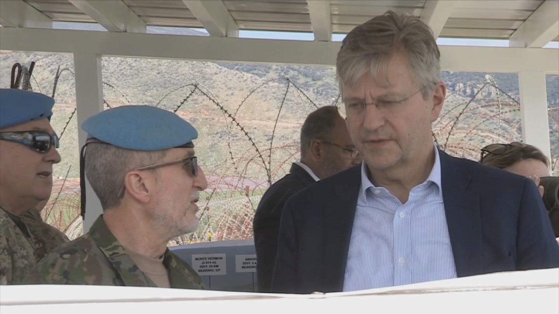 LEBANON  LACROIX UNIFIL VISIT