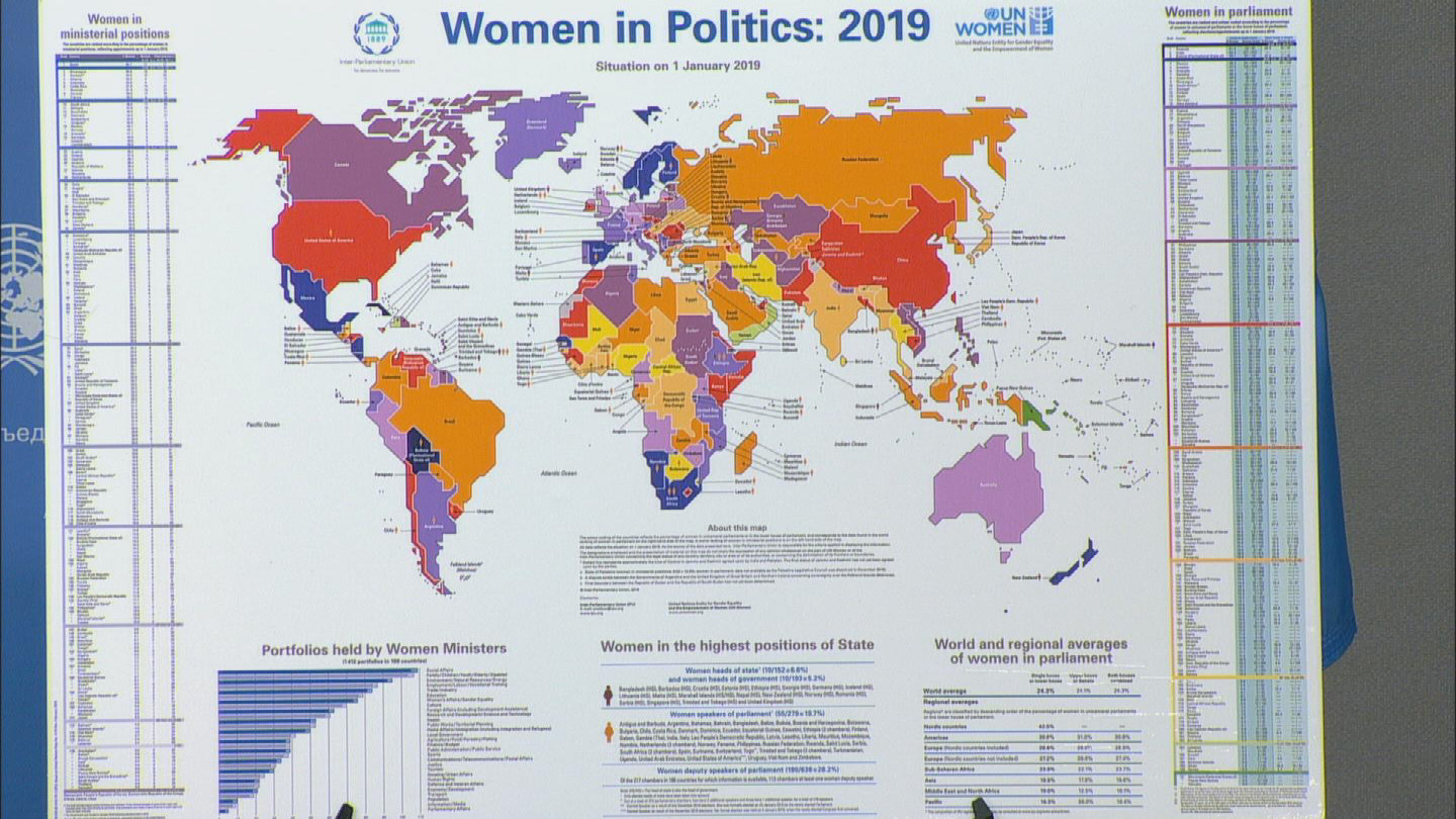 UN  WOMEN IN POLITICS REPORT