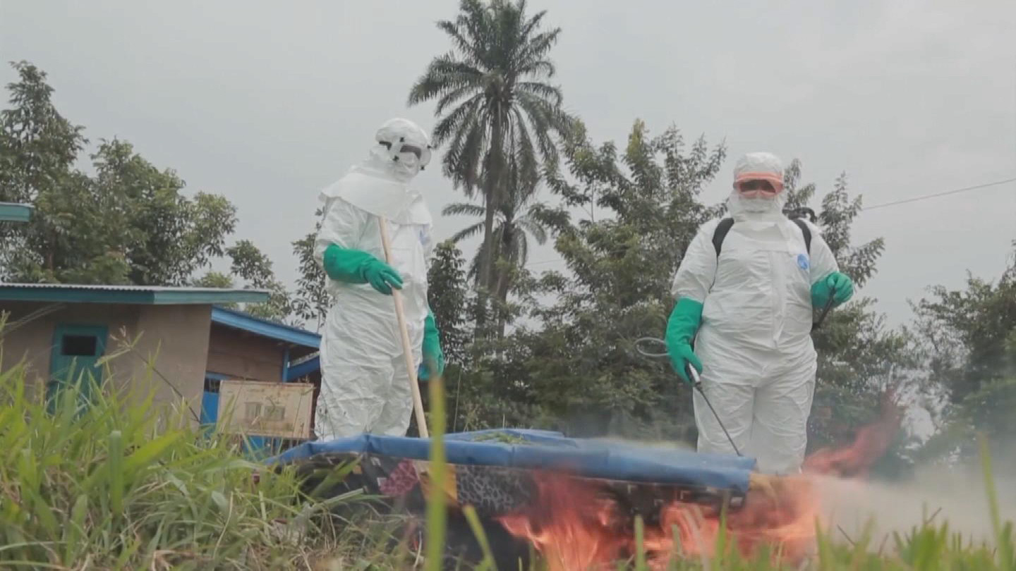 WHO  DRC EBOLA DECONTAMINATION