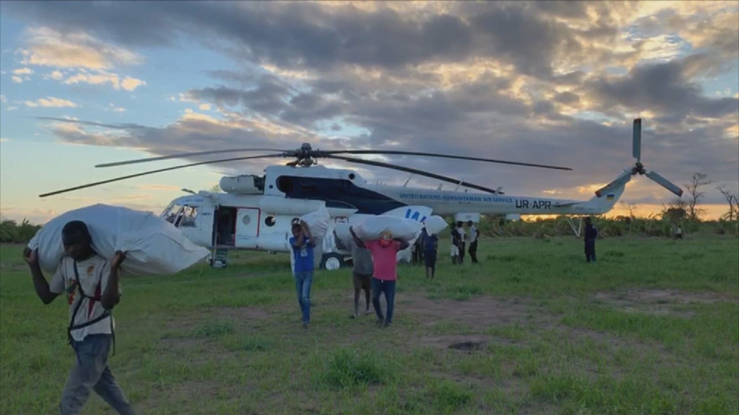 WFP  MOZAMBIQUE AIRLIFTS